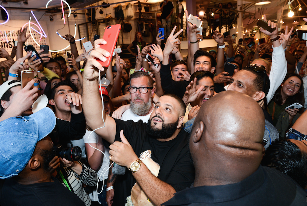DJ Khaled Partners With Calvin Klein & Urban Outfitters at SXSW 2016