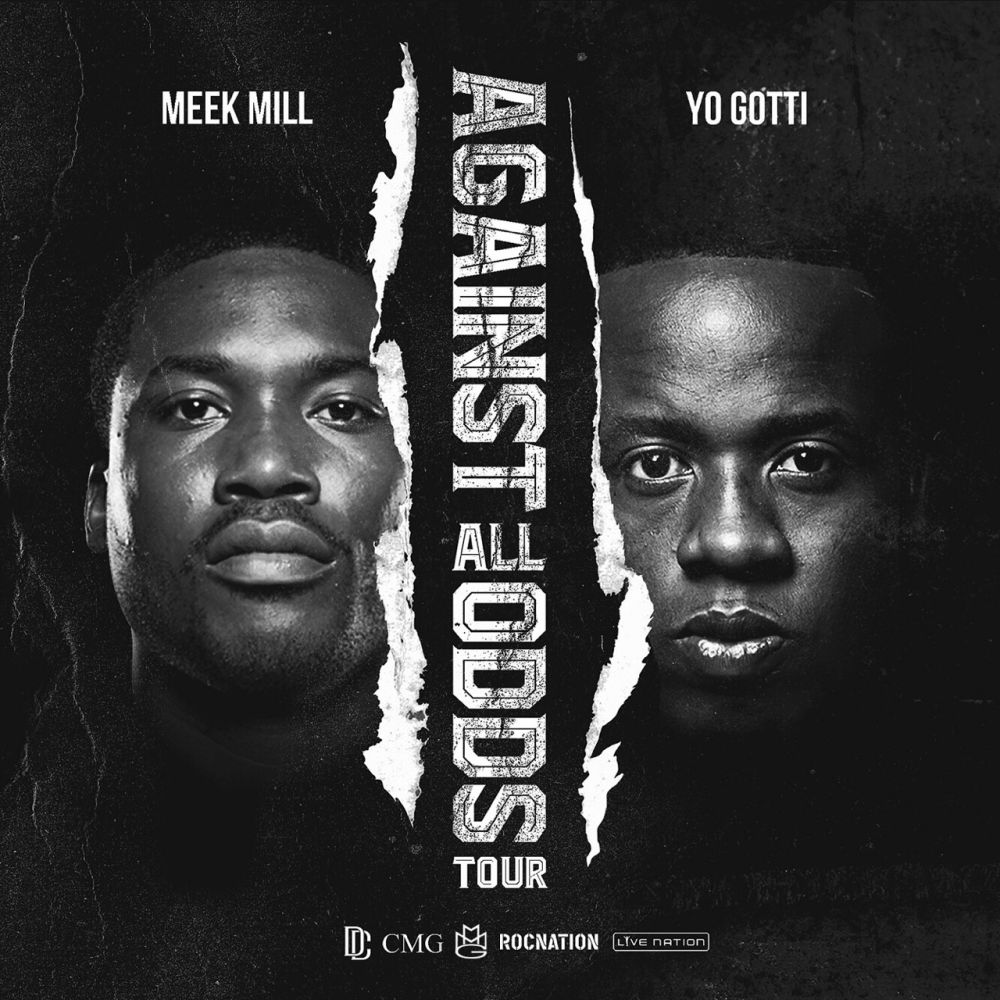 "Meek Mill and Yo Gotti ""Against All Odds Tour"" Video and Dates"