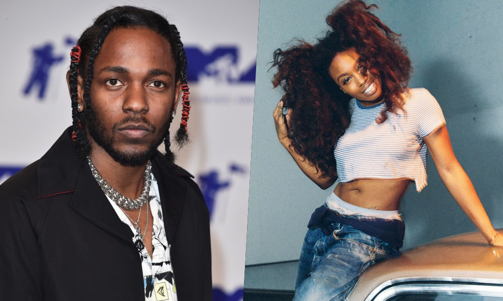 """Kendrick Lamar Taps SZA For 'Black Panther' Single, """"All The Stars"""""""