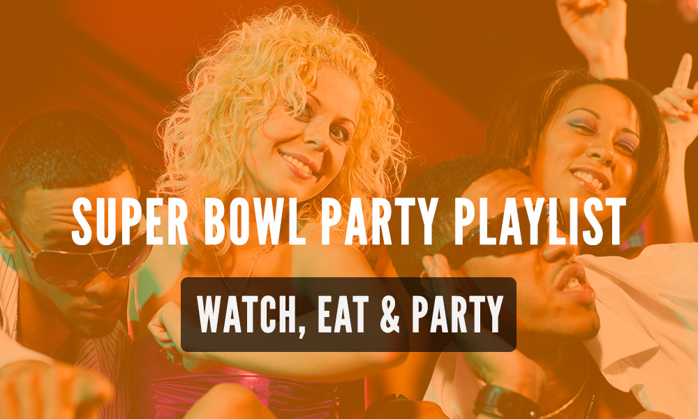 Top 10 Songs To Play During Your Super Bowl Party