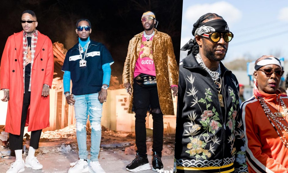 """Big Momma Love: 2 Chainz, YG, and Offset Are """"Proud"""" Of Their Moms"""