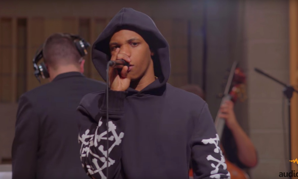 """A Boogie Wit Da Hoodie Performs """"No Promises"""" For Audiomack's 'Trap Symphony' Series"""