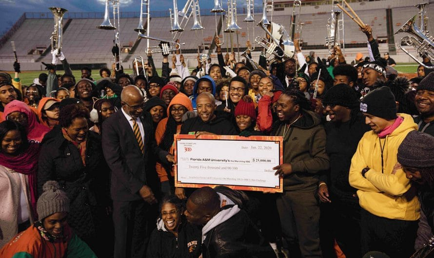 Young Thug + Kevin Liles gift $25k to FAMU in HBCU Viral Challenge