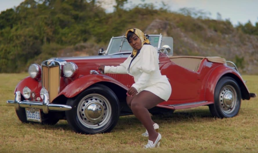 "Spice Pays Homage to Vintage Styles in Sexy ""Rolling"" Video"